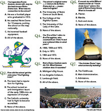 How well do you know Notre Dame?