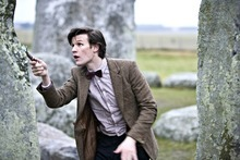 Matt Smith plays The Doctor, the universe-saving time traveler on BBC's