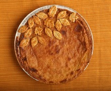 Leah Hogsten  |  The Salt Lake Tribune Becky Rosenthal's Chess Pie.
