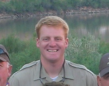 Courtesy Utah State Parks and Recreation Brody Young, the park ranger who was shot near Moab on Nov. 19, recounted his near-death experience at a ceremony to thank the emergency workers who saved his life.