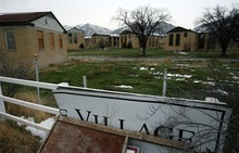 Steve Griffin  |  The Salt Lake Tribune   Many of the old barracks of the former Intermountain Indian School still remain near 1000 south and 200 east in Brigham City Wednesday, December 8, 2010. Utah State University wants to develop the property into a regional campus.