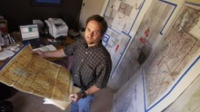 Ryan Galbraith  |  The Salt Lake Tribune  Dave Smart, uncle of Elizabeth, in a room in his Draper home he created to track the investigation in to Elizabeth's abduction. The
