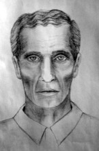 The Salt Lake City police composite sketch of a man who called himself