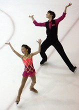 Steve Griffin  |  The Salt Lake Tribune   Sophia Dai and Jeffrey Fishman compete during the intermediate pairs event at the U.S. Junior Figure skating championships at the Salt Lake City Sports Complex  Friday, December 17, 2010.
