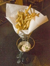 Paul Fraughton  |  The Salt Lake Tribune    An order of Layla's signature fries with harissa