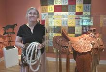 Rick Egan |  The Salt Lake Tribune, 2005  Carol Edison is the folk arts coordinator at the Utah Folk Art Museum at the Chase House in Salt Lake City's Liberty Park.