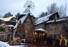 Djamila Grossman  |  The Salt Lake Tribune  View of La Caille, 9565 Wasatch Blvd., Sandy, on Sunday, Dec. 26, 2010.