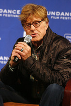 Rick Egan   |  The Salt Lake Tribune  Robert Redford, Founder and President, Sundance Institute, answers questions from the media at the Day One press conference kicks off the 2011 Sundance Film Festival, at the Egyptian Theater in Park City, Utah, Thursday, January 20, 2011