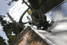 The Alpine slide at Utah Olympic Park has been a popular source of recreation for visitors since it opened in 2005. Public programs at the park and the Olympic oval in Kearns have not been self-supporting financially, but the Utah Athletic Foundation is committed to making the facilities available for community programs. Tribune file photo