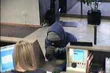 This man robbed a Salt Lake City credit union on Monday.