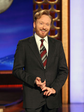 In this Nov. 9, 2010 file publicity image originally released by Team Coco, Conan O'Brien speaks during his monologue on