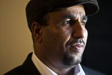 Chris Detrick  |  The Salt Lake Tribune  Kassim Alshamsawi poses for a portrait at his apartment in Salt Lake City Tuesday February 1, 2011.
