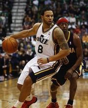 Djamila Grossman     The Salt Lake Tribune  Deron Williams was selected by coaches Thursday as a reserve on the Western Conference 2011 All-Star team.