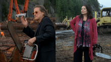 Comedians Richard Lewis and Roseanne Barr appeared in a Snickers commercial. Courtesy of Mars Inc.