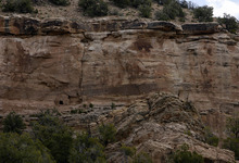 Leah Hogsten  |  The Salt Lake Tribune The Pueblo III-period cliff dwellings created by the Anasazi or Ancestral Puebloan peoples between 1150 and 1300 A.D. in Recapture Canyon on Blanding's northern outskirts on Thursday, May 6, 2010. The U.S. Bureau of Land Management is considering a San Juan County application for the right of way in Recapture Canyon. An ATV trail would give Blanding residents and visitors easier access to archaeological sites.