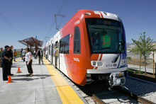 Francisco Kjolseth     The Salt Lake Tribune     The Obama administration has put the planned TRAX extension to Draper on a fast track for $113.6 million in federal funding -- although congressional Republicans are threatening to derail money for such projects.