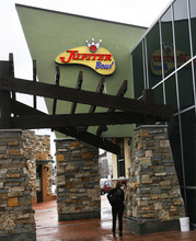 Scott Sommerdorf  l  The Salt Lake Tribune Jupiter Bowl in Park City caters best to bowlers. Opt to eat while bowling and order mainly from the list of appetizers and burgers.