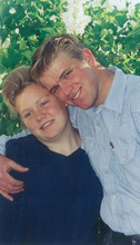Elissa Wall, then 14, and Allen Steed, then 19,  the day after they were married by polygamous sect leader Warren S.  Jeffs. This photo was used as evidence in Jeffs' rape as an accomplice trial.