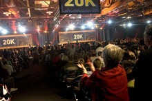 The XanGo convention in Salt Lake City in 2007 had a rock concert-like atmosphere. Tribune file photo