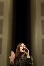 Djamila Grossman  |  The Salt Lake Tribune Jen Marco Handy sings during
