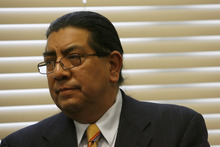 File Photo | The Salt Lake Tribune Gov. Gary Herbert has fired Division of Indian Affairs Director Forrest Cuch. No reason was given for termination of the long-time state official.