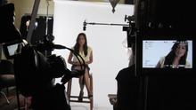 Actress Rosario Dawson is interviewed in the documentary