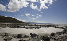 The Spiral Jetty along the northern portion of the Great Salt Lake in 2009. Tribune file photo