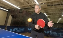 Paul Fraughton  |  The Salt Lake Tribune  Ronald Mills, founder of the Table Tennis Training and Event Center, plays at the facility in West Valley City on March 3. He hopes the complex will rally fresh interest in a sport that has been largely overlooked in American athletics.