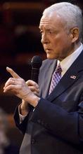 Tribune file photo U.S. Sen. Orrin Hatch