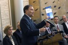 Al Hartmann   |  The Salt Lake Tribune  Governor Gary Herbert releases