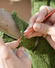 Al Hartmann   |  The Salt Lake Tribune  The Utah Arts Festival is starting a campaign in which rogue knitters perform