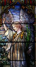 Francisco Kjolseth  |  The Salt Lake Tribune Tiffany window of the