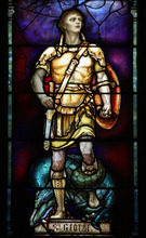 Francisco Kjolseth  |  The Salt Lake Tribune Tiffany window of