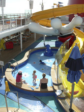 Tom Wharton  |  The Salt Lake Tribune  Family water parks are a popular feature on many cruise ships, making them great fun for family spring breaks.