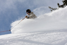 Utah ski resorts passed the 500-inch milestone for snowfall during the 2010-11 season over the weekend and there is more on the way. Snowbird in Little Cottonwood Canyon is slated to remain open through Memorial Day. Courtesy Tim Burdick, Snowbird Powdershots