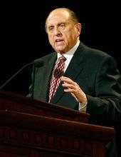 LDS Church President Thomas S. Monson