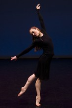 Photo by Chris Detrick   The Salt Lake Tribune  Colleen Hoelscher dances during a rehearsal of Repertory Dance Theatre's