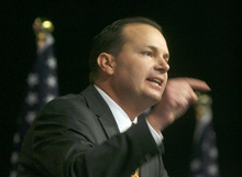STEVE GRIFFIN | The Salt Lake Tribune Sen. Mike Lee, R-Utah