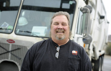Sarah A. Miller  |  The Salt Lake Tribune  John Whittaker, 54, of Kearns flies to Dallas next month to be recognized as national truck driver of the year in the public sector by the National Solid Wastes Management Association.