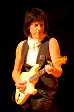 Jeff Beck performed in  a sold-out Salt Lake City show on April 13.