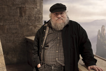 GAME OF THRONES: George R.R. Martin. photo: Nick Briggs, HBO