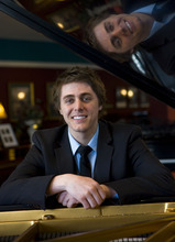 Al Hartmann   |  The Salt Lake Tribune  Josh Wright is a local pianist from Sandy whose debut album just charted at No. 6 on the Billboard classical charts.