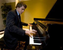 Al Hartmann   |  The Salt Lake Tribune  Josh Wright is a local pianist from Sandy whose debut album just hit No. 2 on the Billboard classical traditional chart, and No. 6 on the overall classical chart.