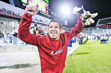 Ever since arriving in 2007 and becoming the team MVP during a tough season, Nick Rimando has anchored the rebuilding of RSL that led to a Major League Soccer championship in '09 and positioned the team for a bid to the FIFA Club World Cup. Tribune file photo