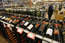 Rep. Ryan Wilcox says his proposal to privatize liquor sales is picking up support. The idea was endorsed Wednesday by the state's Privatization Policy Board. This file photo shows a state liquor store in Provo. FRANCISCO KJOLSETH  |  Tribune File Photo