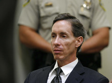 Trent Nelson | The Salt Lake Tribune  Warren Jeffs listens to testimony in 2006 at a court hearing in Washington County. He is now in a Texas jail awaiting trial on sexual-assault and bigamy charges related to underage girls.