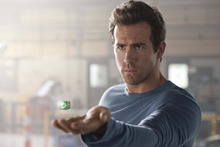 Hal Jordan (Ryan Reynolds) tries to understand the power of a green ring in