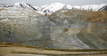 The open pit of Kennecott's Bingham Canyon mine is shown in this 2006 file photo.