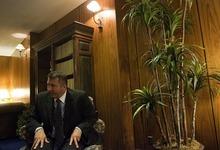 DJAMILA GROSSMAN     The Salt Lake Tribune Arizona Sen. Rich Crandall, R-Mesa, talks about his stand against anti-illegal immigration bills during the recent Arizona legislative session. He says a proposed ban of undocumented kids from school make no sense.