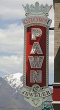 Trent Nelson  |  The Salt Lake Tribune Crown Jewelers & Pawn, a pawn shop in Salt Lake City on Friday, May 13, 2011.